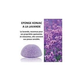 Eponge KONJAC LAVANDE