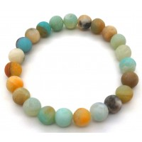 bracelet pierre naturelle en Amazonite 8mm