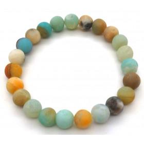 bracelet pierre naturelle en Amazonite 8mm