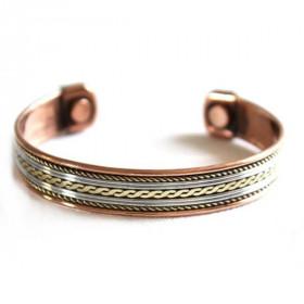 bracelet cuivre aimant modele fin